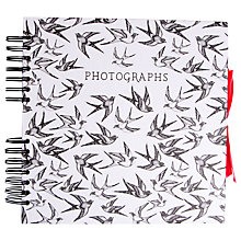 Buy Art File Bound & Dash Square Spiral Album Online at johnlewis.com