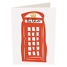 Buy Caroline Gardner Hello Telephone Box Notecards, Pack of 10 Online at johnlewis.com
