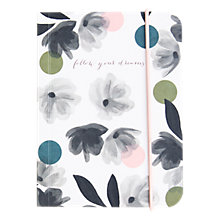 Buy Caroline Gardner Rose Tinted Small Chunky Notebook Online at johnlewis.com