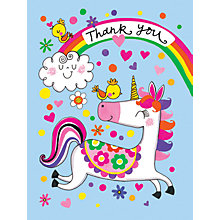Buy Rachel Ellen Unicorn Thank You Notecards, Pack of 5 Online at johnlewis.com