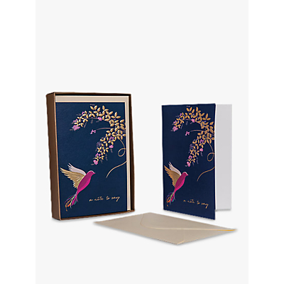 Image of Sara Miller Bird and Floral Note to Say Note Cards