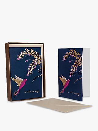 Sara Miller Bird and Floral Note to Say Note Cards