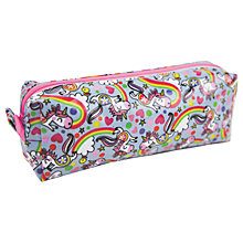 Buy Rachel Ellen Magical Unicorn Slim Pencil Case Online at johnlewis.com