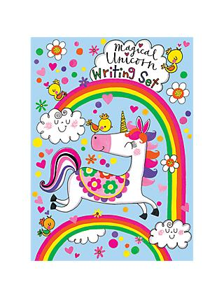 Rachel Ellen Magical Unicorn Writing Set