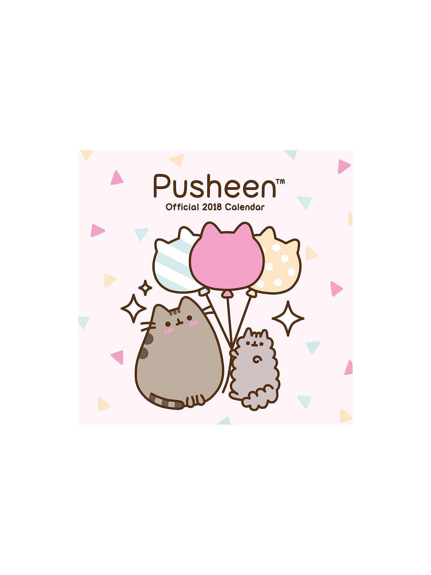 buypusheen official 2018 square calendar online at johnlewiscom