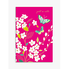 Buy Sara Miller Just A Note Notecards, Pack of 10 Online at johnlewis.com