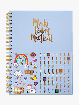 Buy Rachel Ellen Unicorn A4 Personalisable Notebook Online at johnlewis.com