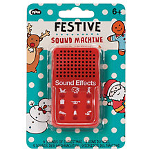 Buy NPW Festive Sound Machine Online at johnlewis.com