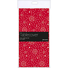 Buy John Lewis Indian Star Table Cover, Red Online at johnlewis.com