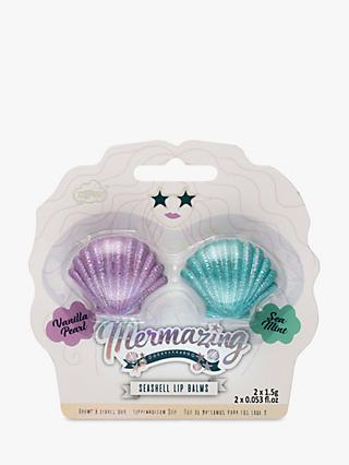NPW Mermaid Seashell Duo Lip Balm