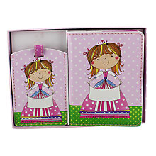 Buy Rachel Ellen Personalised Princess Passport Cover And Luggage Tag Online at johnlewis.com