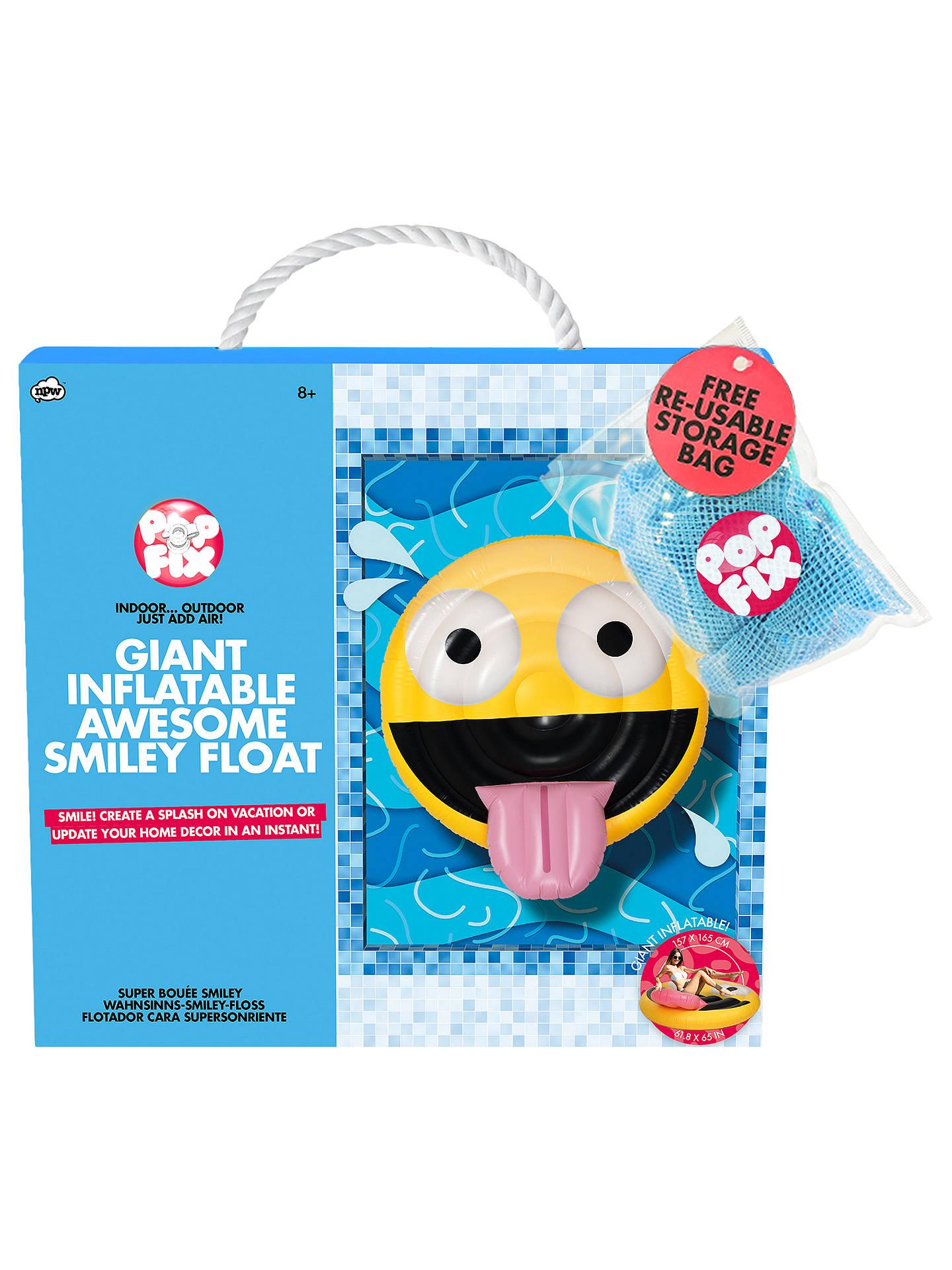 NPW Giant Inflatable Emoji at John Lewis & Partners