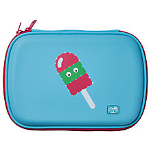 Buy Tinc Lolly Glowgo Pencil Case, Blue Online at johnlewis.com