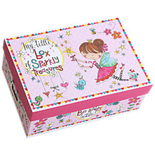 Buy Rachel Ellen Princess Sparkly Treasures Box Online at johnlewis.com