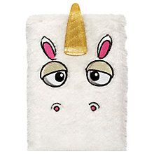 Buy NPW Fluffy Unicorn Notebook Online at johnlewis.com