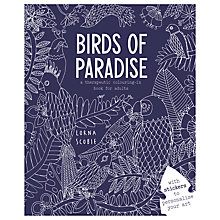 Buy Birds of Paradise Colouring Book Online at johnlewis.com