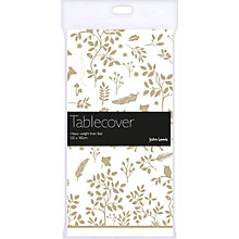Buy John Lewis Woodland Table Cover, White Online at johnlewis.com