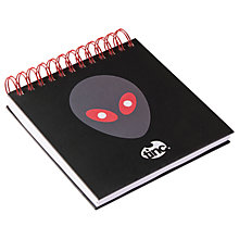 Buy Tinc Alien Square Jotter Notepad Online at johnlewis.com