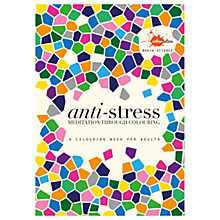 Buy Brain Science Anti Stress Colouring Book For Adults Online at johnlewis.com