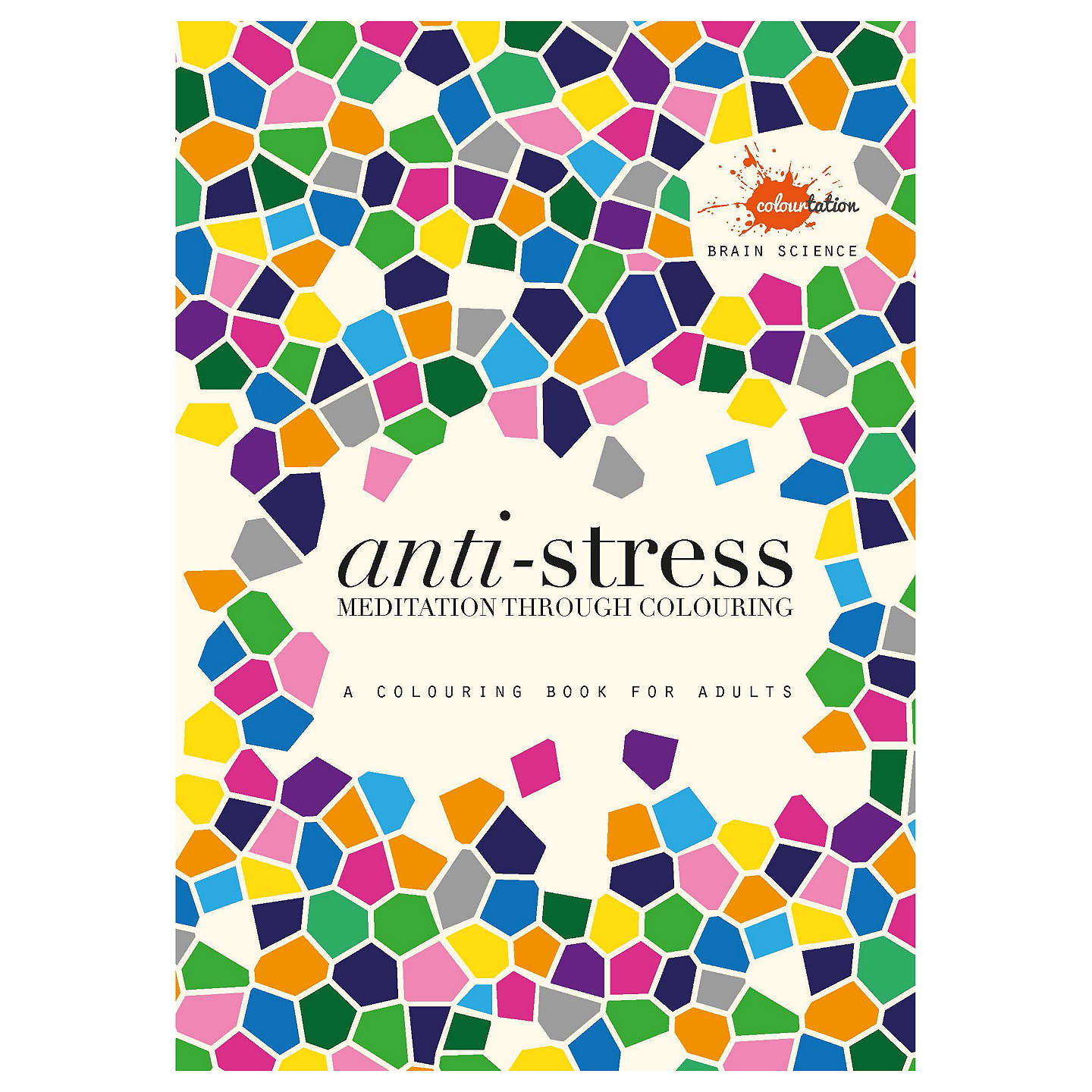 BuyBrain Science Anti Stress Colouring Book For Adults Online At Johnlewis