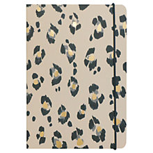 Buy Portico A5 Leopard Print Notebook Online at johnlewis.com