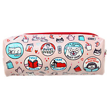 Buy Gemma Correll Book Worm Pencil Case, Multi Online at johnlewis.com