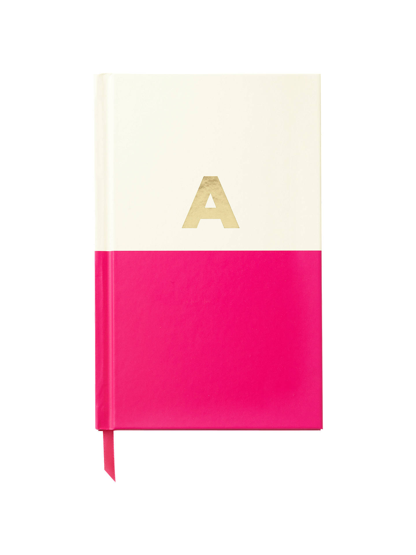Buykate spade new york Dipped Initial Notebook, A Online at johnlewis.com