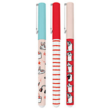 Buy Gemma Correll Pens, Pack of 3 Online at johnlewis.com