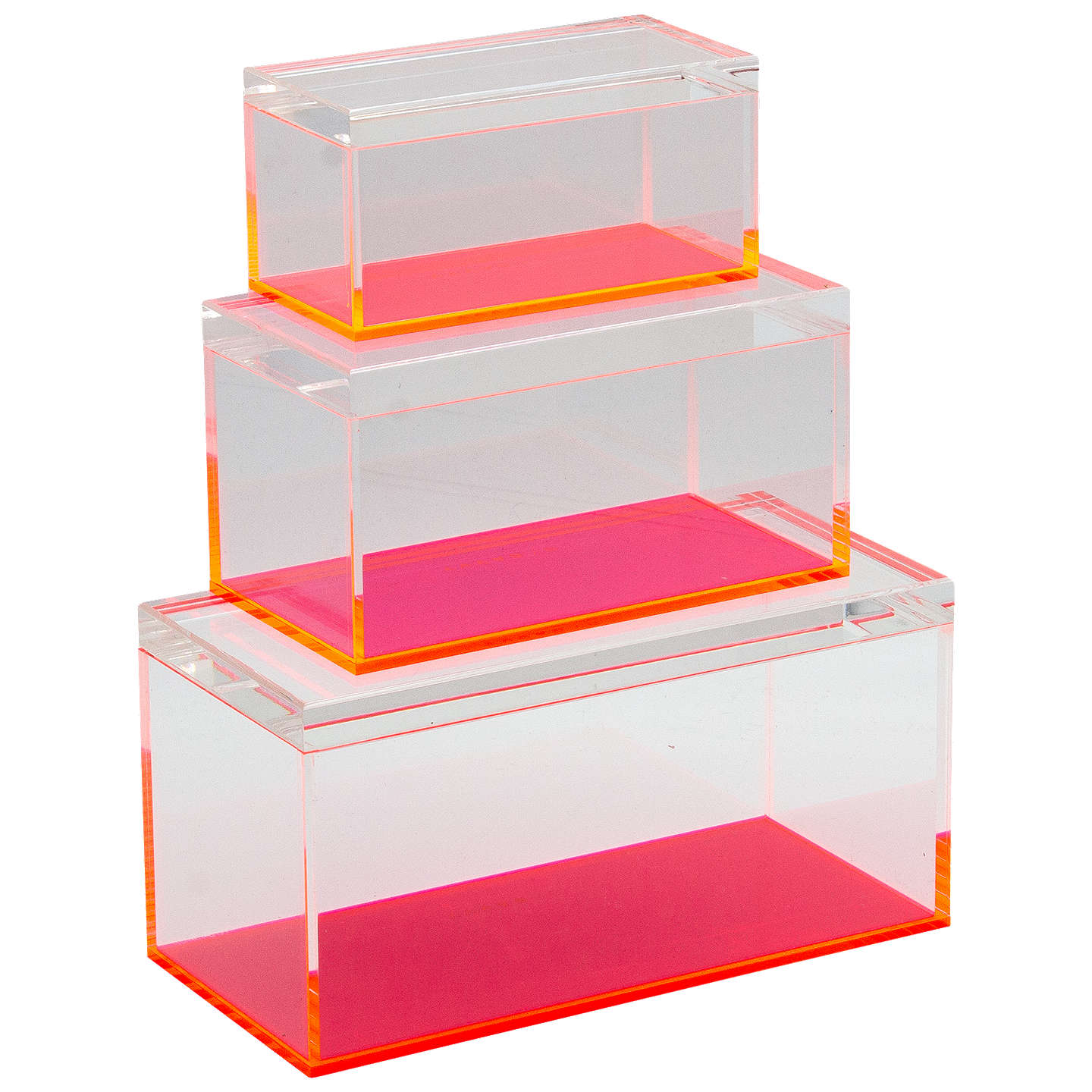 BuyLund London Acrylic Storage Box Set Pack of 3 Online at johnlewis.com ...  sc 1 st  John Lewis & Lund London Acrylic Storage Box Set Pack of 3 at John Lewis