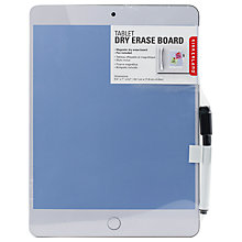 Buy Kikkerland Tablet Erase Board, Assorted Online at johnlewis.com