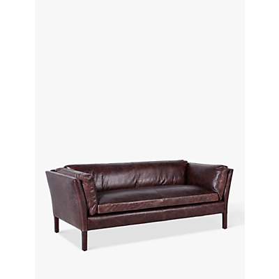 Halo Groucho Large 3 Seater Leather Sofa