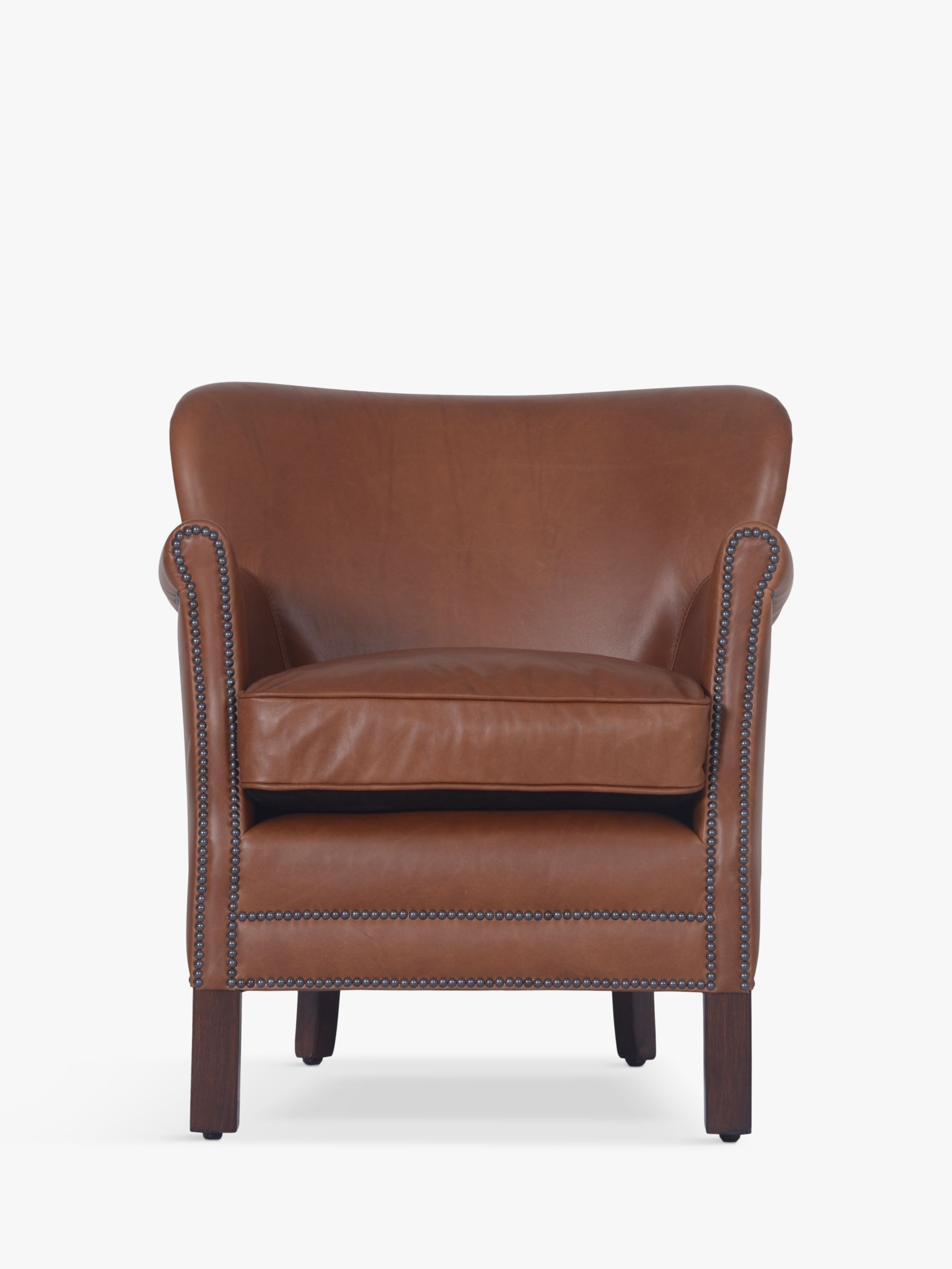 Halo Halo Little Professor Aniline Leather Chair, Riders Nut