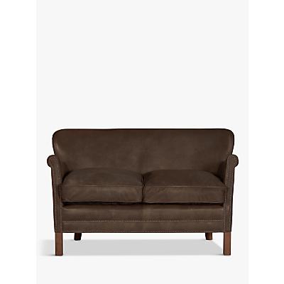 Halo Little Professor Aniline Leather Petite 2 Seater Sofa