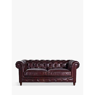 Halo Earle Aniline Leather Chesterfield Medium 2 Seater Sofa