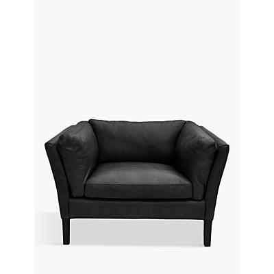 Halo Groucho Leather Armchair