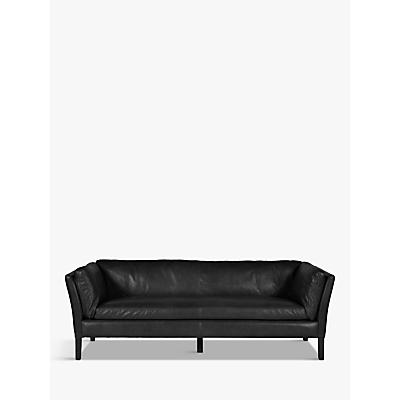 Halo Groucho Leather Large 3 Seater Sofa