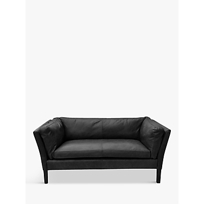 Halo Groucho Leather Small 2 Seater Sofa