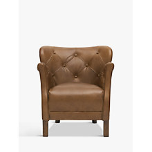 Buy Halo Little Professor Buttoned Leather Chair Online at johnlewis.com