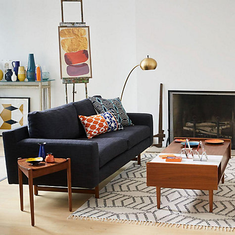 ... Buy West Elm Eddy Large 3 Seater Sofa Online At Johnlewis.com ...