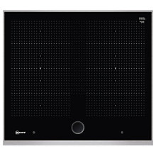 Buy Neff T66TS61N0 Induction Hob with TwistPad Fire, Black Online at johnlewis.com