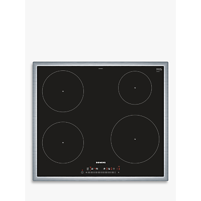 Siemens EH645FEB1E Induction Hob, Black