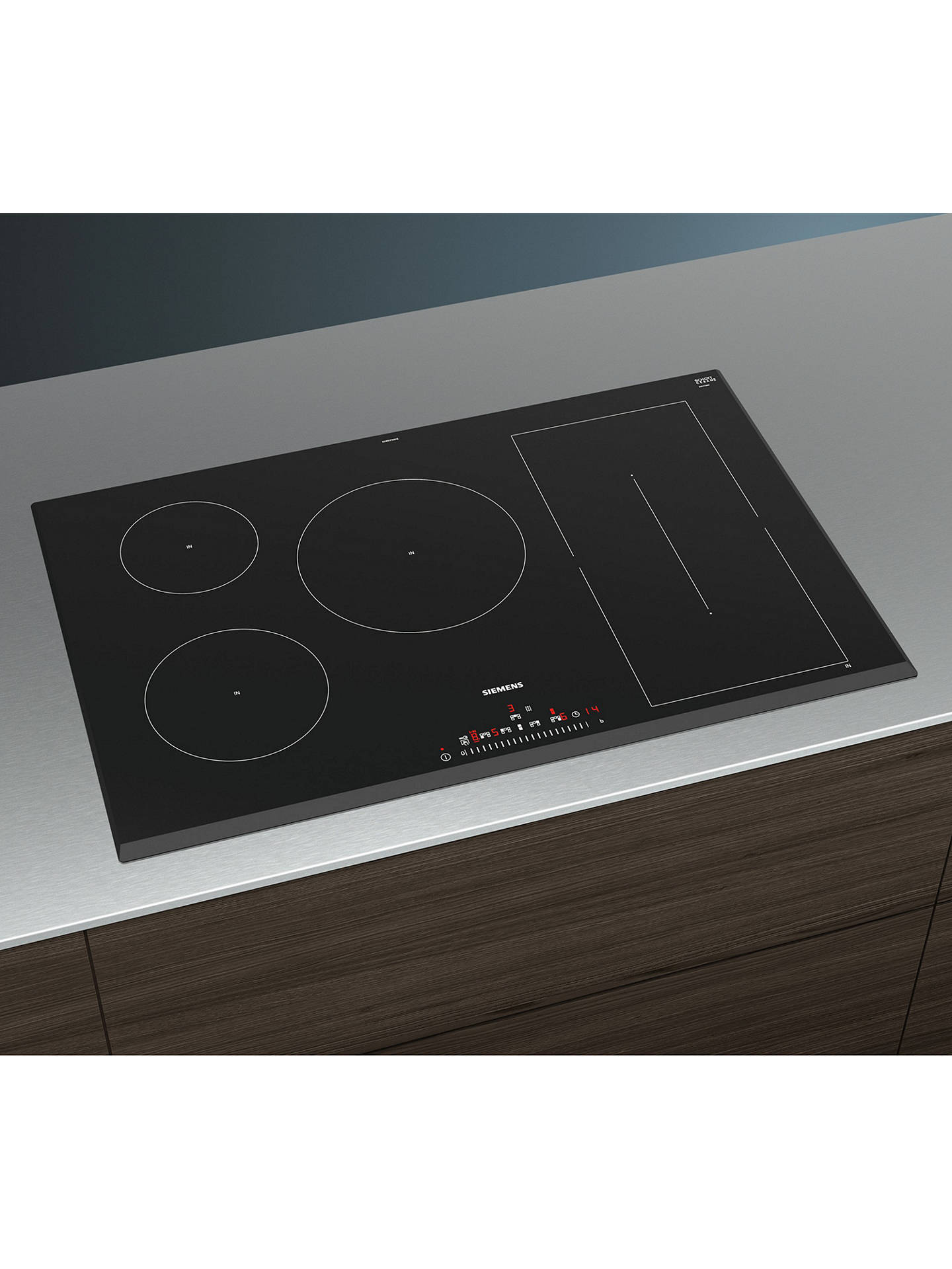 BuySiemens ED851FWB1E Induction Hob, Black Online at johnlewis.com