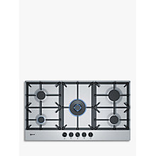 Buy Neff T29DS69N0 Gas Hob, Stainless Steel Online at johnlewis.com