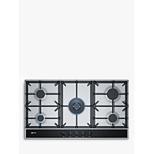 Buy Neff T29DA69N0 Gas Hob, Stainless Steel Online at johnlewis.com