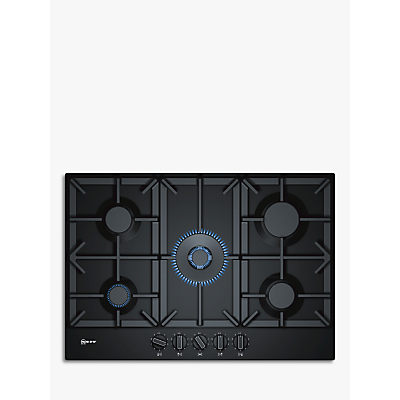 Neff T27DS59S0 Gas Hob, Black