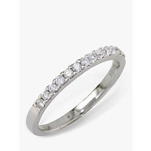 Buy EWA 18ct White Gold Diamond Eternity Ring Online at johnlewis.com