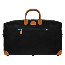 Buy Bric's Life Clipper Medium Holdall, Black Online at johnlewis.com