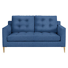 Buy John Lewis Draper Medium 2 Seater Sofa, Light Leg, Saga Ocean Online at johnlewis.com