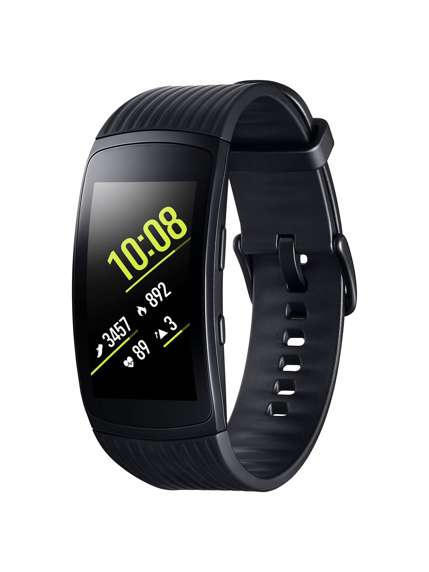 Buy Samsung Gear Fit 2 Pro GPS Sports Band, Large, Black Online at johnlewis.com