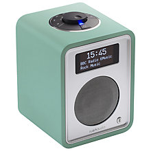 Buy Ruark R1 MK3 DAB Bluetooth Digital Radio, Limited Edition Sea Green Online at johnlewis.com